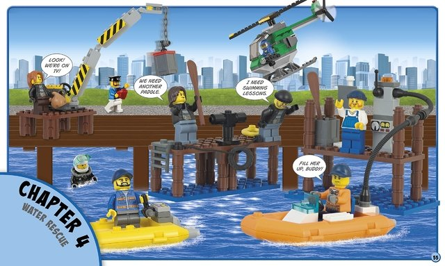 Lego City: Build Your Own Adventure - Children's Books