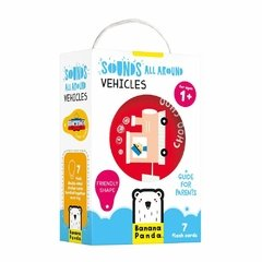 Sounds All Around Vehicles Age 1+ Flash Cards