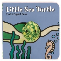 Little Sea Turtle: Finger Puppet Book