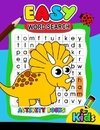 Easy Word Search Activity Book for Kids
