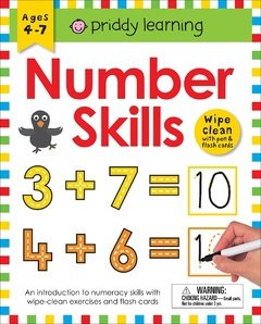 Wipe Clean Workbook: Number Skills