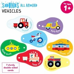 Sounds All Around Vehicles Age 1+ Flash Cards - comprar online
