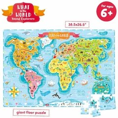 What in the World. Young Explorers Age 6+ Puzzle - comprar online