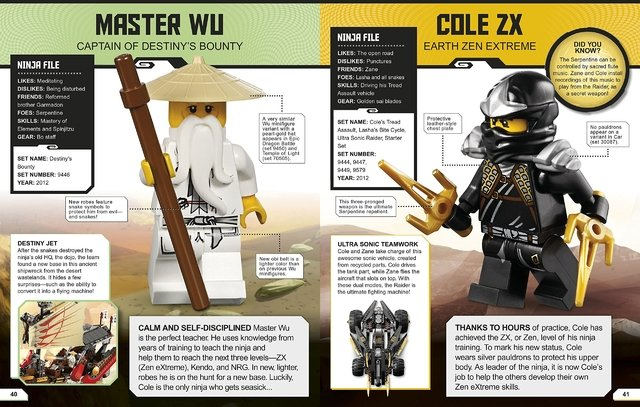 Lego Ninjago Character Encyclopedia (Updated) - comprar online