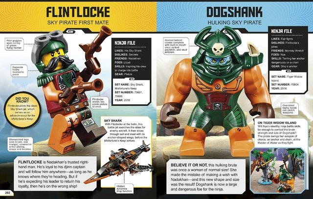 Lego Ninjago Character Encyclopedia (Updated) en internet