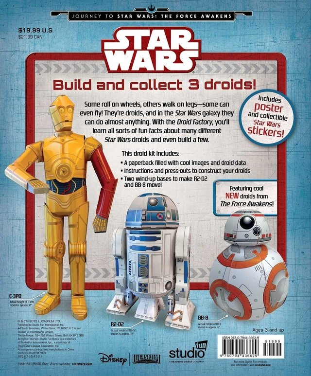 Star Wars: Droid Factory (Star Wars: Journey to Star Wars: the Force Awakens) en internet