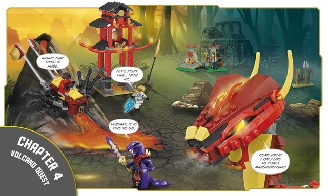 Lego Ninjago: Build Your Own Adventure en internet