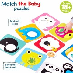 Match the Baby Age 18m+ Puzzle en internet