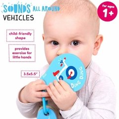 Sounds All Around Vehicles Age 1+ Flash Cards en internet
