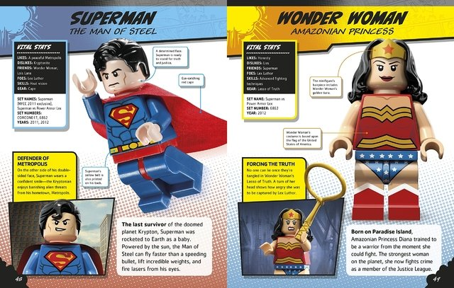 LEGO DC Comics Super Heroes Character Encyclopedia en internet