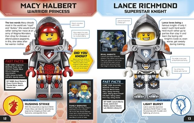 Lego Nexo Knights Character Encyclopedia - comprar online