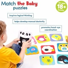 Match the Baby Age 18m+ Puzzle - Children's Books