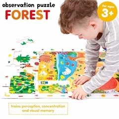 Observation Puzzle Forest Age 3+ Puzzle - Children's Books