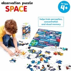 Observation Puzzle Space Age 4+ Puzzle and Poster - tienda online