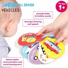 Sounds All Around Vehicles Age 1+ Flash Cards - tienda online