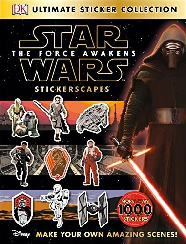 Star Wars: The Force Awakens Stickerscapes