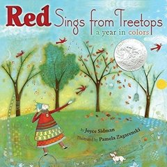Red Sings from Treetops: A Year in Colors Caldecott Medal Honor Book 2010 - comprar online