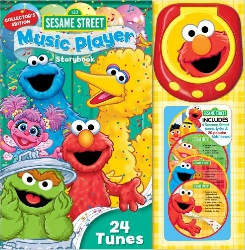 Sesame Street Music Player Storybook: 24 Tunes [With Music Player and 4 CDs] (Collector's) - comprar online