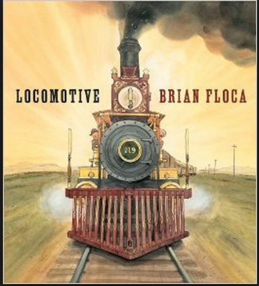 Locomotive-Caldecott Medal Winner 2014