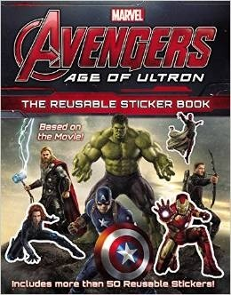 Age of Ultron: The Reusable Sticker Book