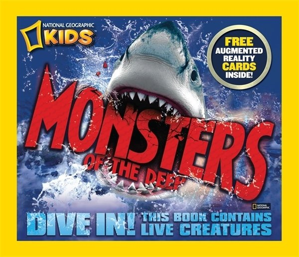 Monsters of the Deep [With 3-D Action Cards]