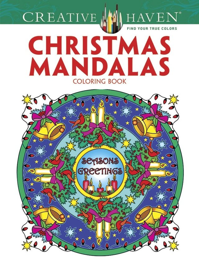 Creative Haven Christmas Mandalas Coloring Book (First Edition, First)
