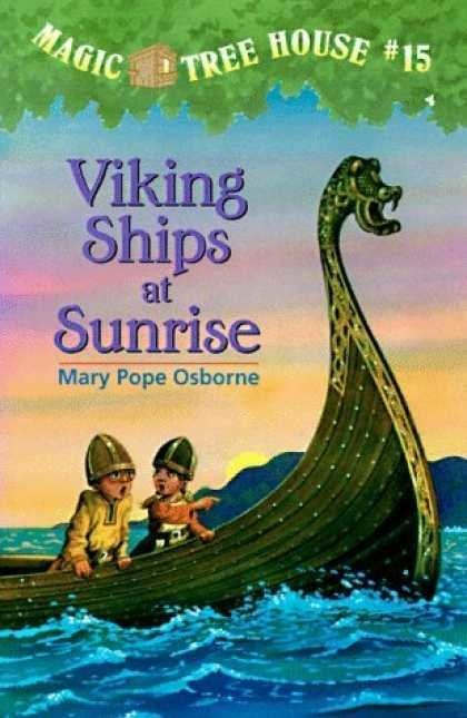 Viking Ships at Sunrise (MTH # 15)