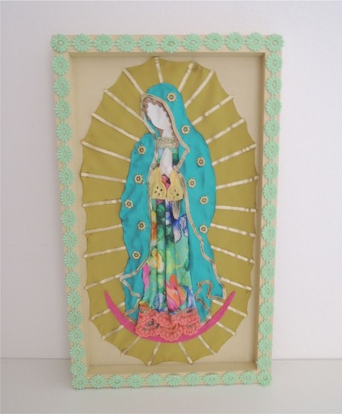 Cuadro virgen MULTICOLOR en internet