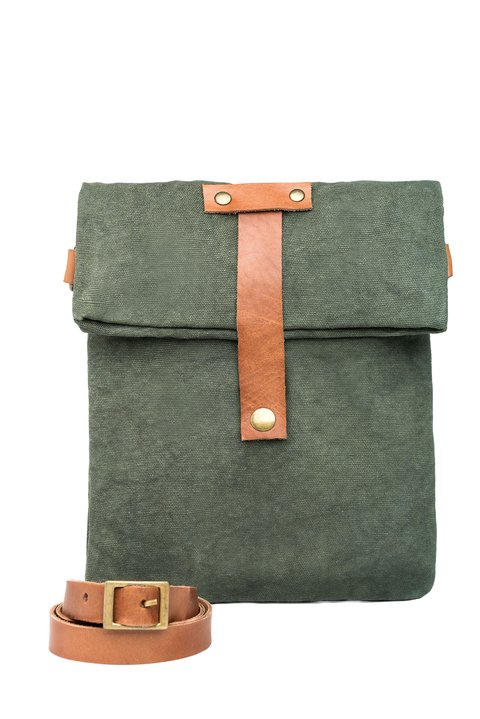Hampton Messenger Military Green on internet