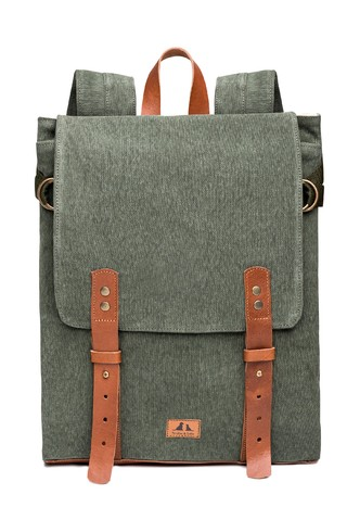 Proa Backpack Military Green - Tincho & Lola
