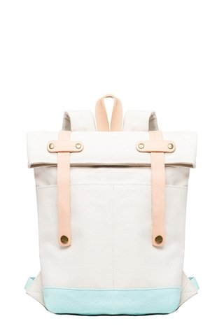 RW Mini Backpack Natural / Turquoise on internet
