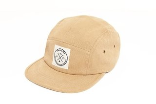 Encinitas 5 Panel Hat - Beige