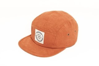 Encinitas 5 Panel Hat - Brick Red