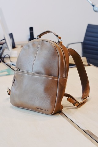Portland  White Label® Backpack London Brown - online store