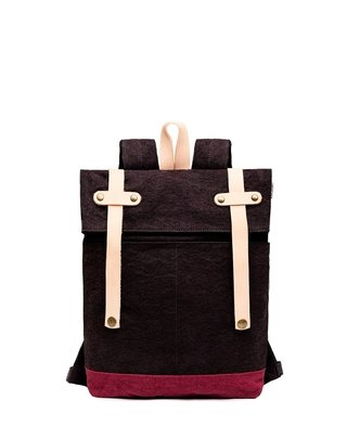 RW Mini Backpack Dark Gray / Bordeaux (copia) on internet