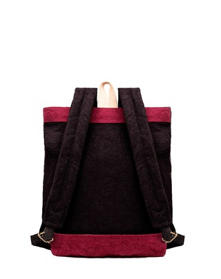 Image of RW Mini Backpack Dark Gray / Bordeaux (copia)