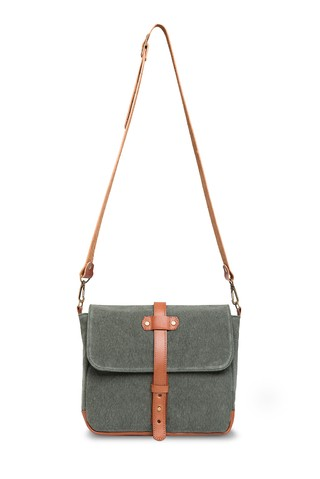 LAX Messenger Military Green