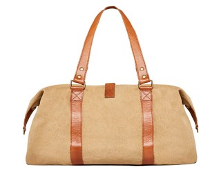 Irvington Mini Weekender Beige - buy online
