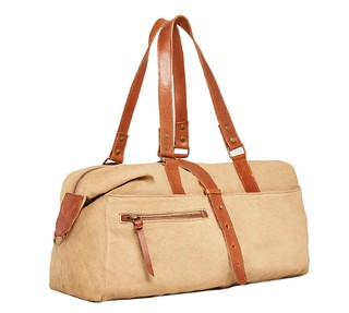 Irvington Mini Weekender Beige on internet