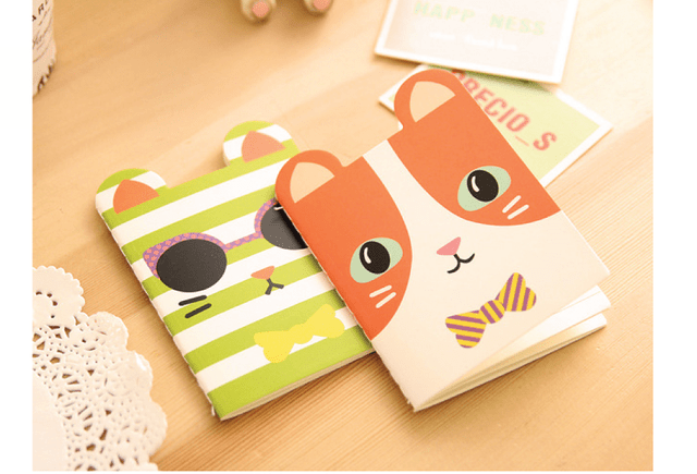 Mini libreta de bolsillo Cool Cat en internet