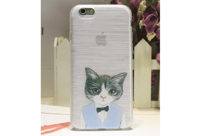 Estuche de celular Iphone 6 plus Gatos - comprar online