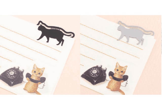 Bookmark Petit Clip Gatos Plata en internet