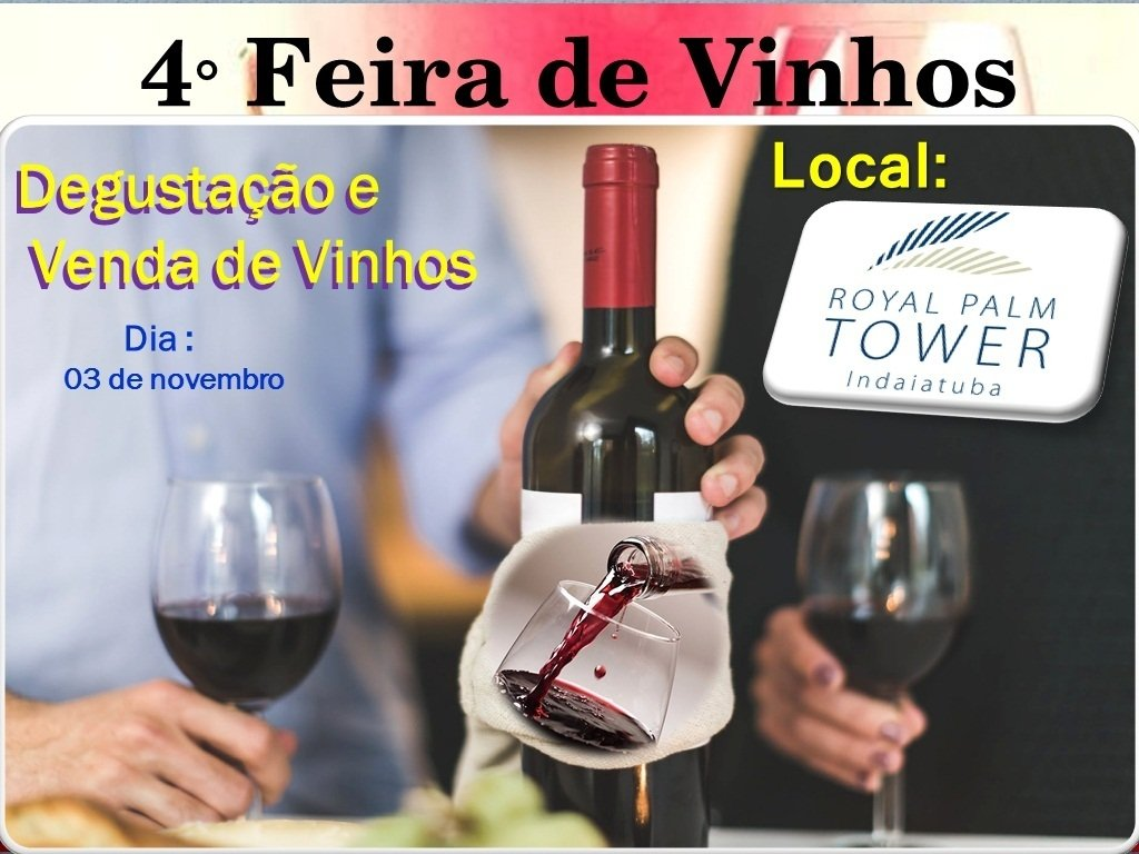 cd35cf323 4°Feira de Vinhos Nacionais e Importados de Indaiatuba