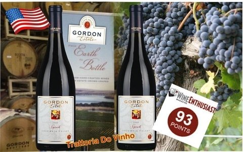 Vinho Tinto Gordon Brothers – Estate Grown Syrah, Columbia Valley 2010 - comprar online