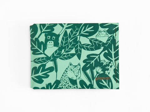M wallet - aqua rainforest