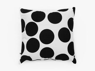 cushion cover - giant black dots