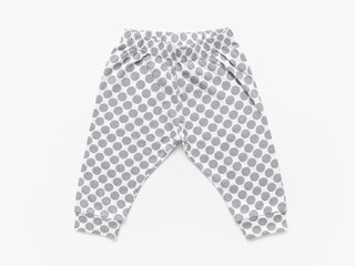 trousers - cement dots