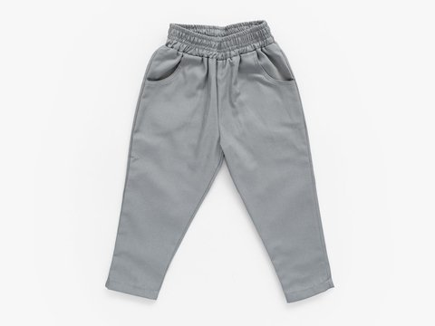 chino trousers - cement