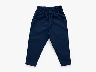 chino trousers - navy blue
