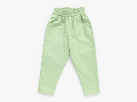 chino trousers - lime